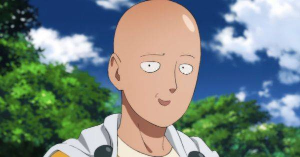 One Punch Man saitama funny face