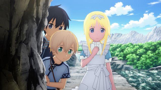 Sword Art Online Alicization anime visuals art