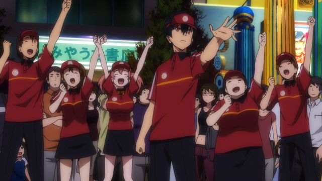 The Devil Is A Part Timer employees