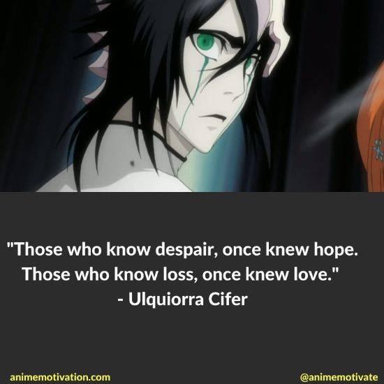 Ulquiorra cifer quotes bleach 10