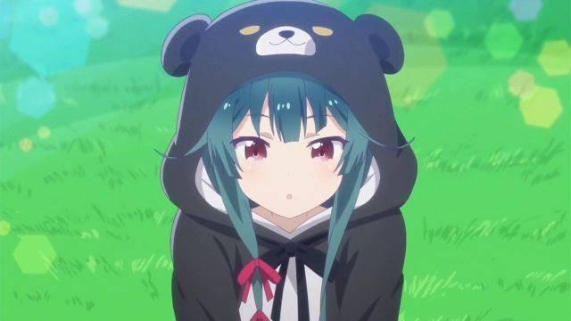Yuna Kuma Kuma Kuma Bear cute moments