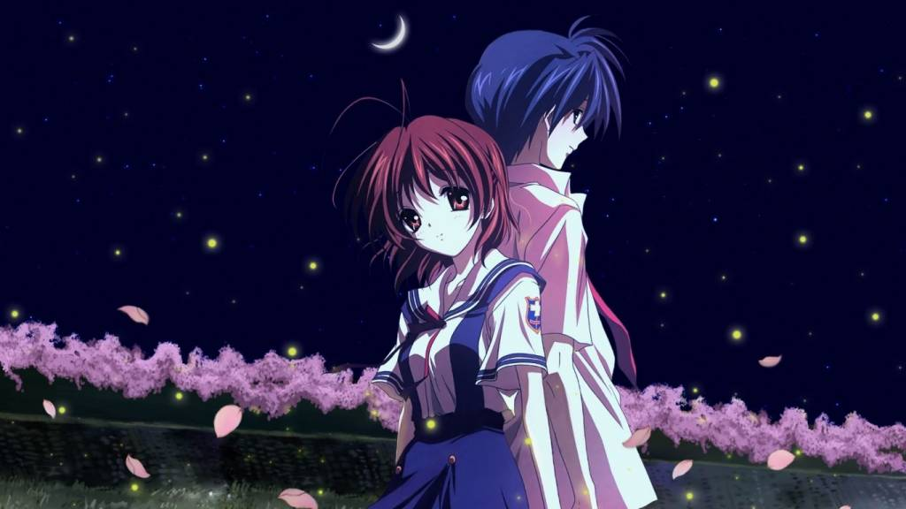 clannad wallpaper anime couple