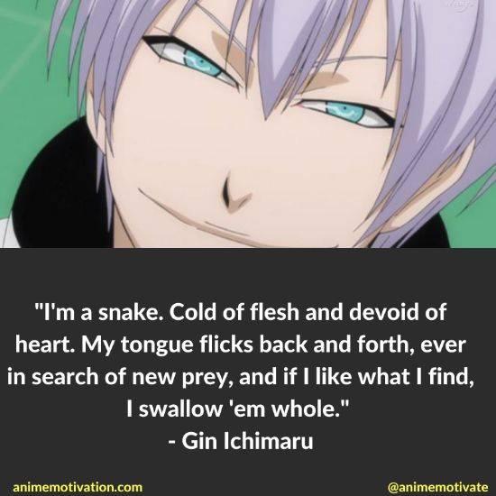 gin ichimaru quotes bleach 1
