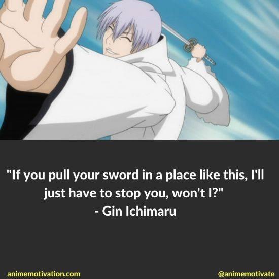 gin ichimaru quotes bleach 10