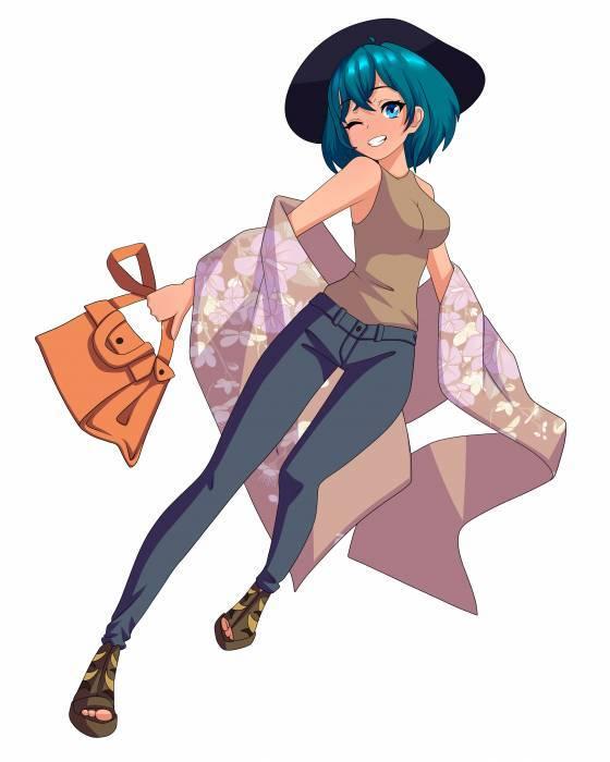 hikari yorokobi sophisticated outfit cute
