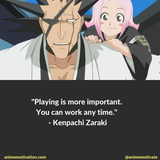 kenpachi zaraki quotes bleach 1
