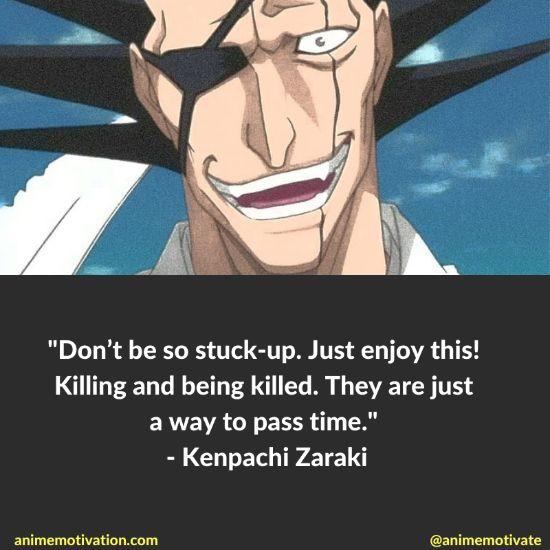 kenpachi zaraki quotes bleach 3