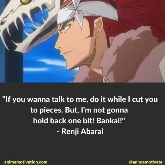 renji abarai quotes bleach 12