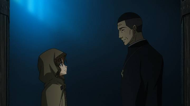 spice and wolf church scene