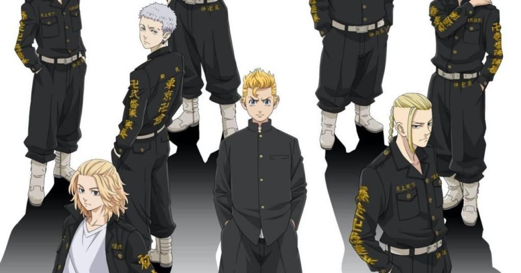 tokyo revengers anime wallpaper art