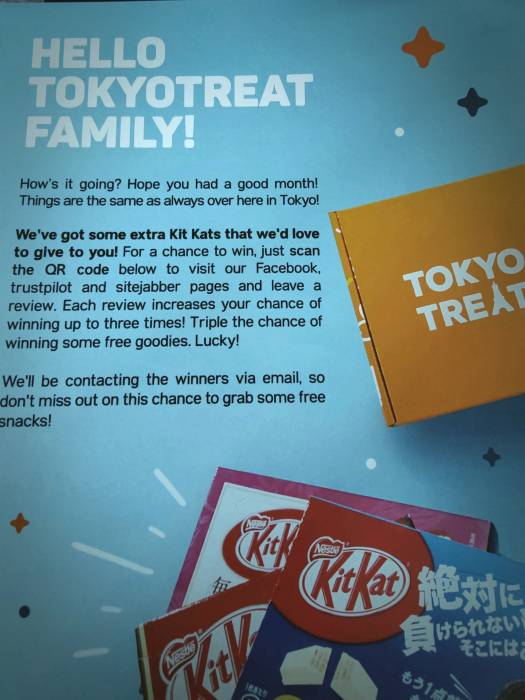 tokyo treat pamphlet booklet subscription box 6