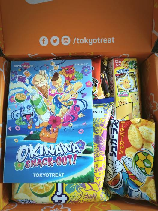 tokyo treat subscription box sweets and snacks 14