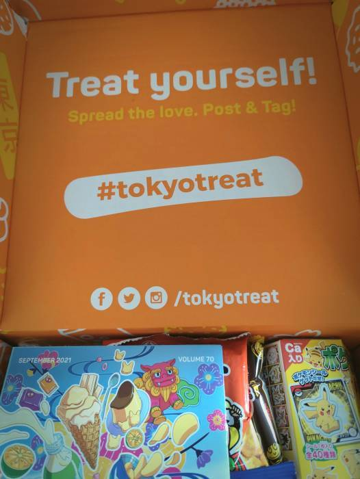 tokyo treat subscription box sweets and snacks 15