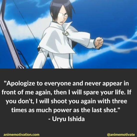 uryu ishida quotes bleach 2