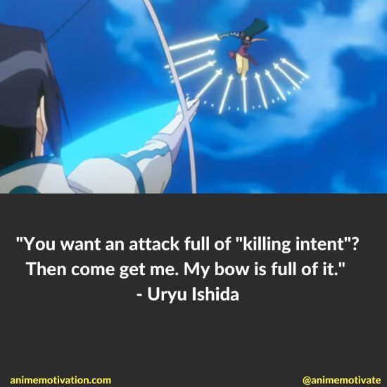 uryu ishida quotes bleach 4