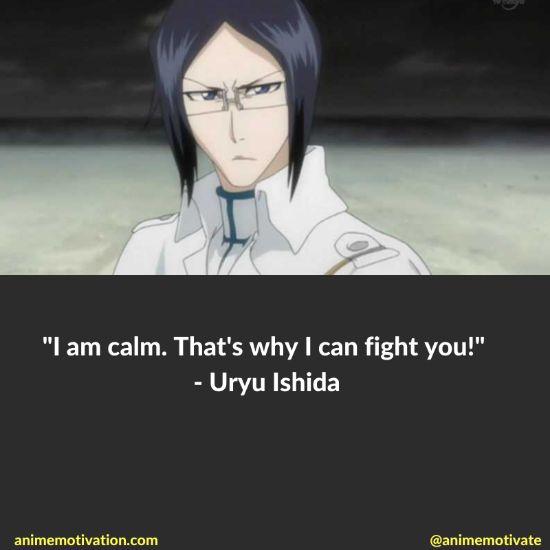 uryu ishida quotes bleach 6