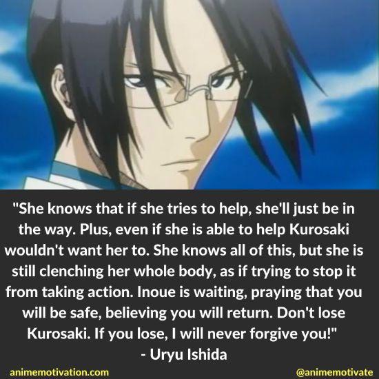 uryu ishida quotes bleach 7
