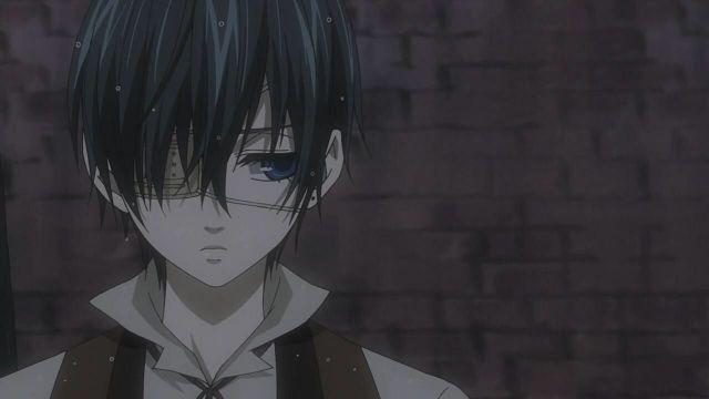 Black Butler ciel sad