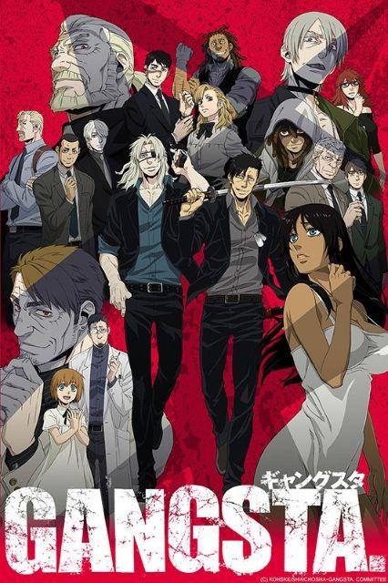 Gangsta anime cover