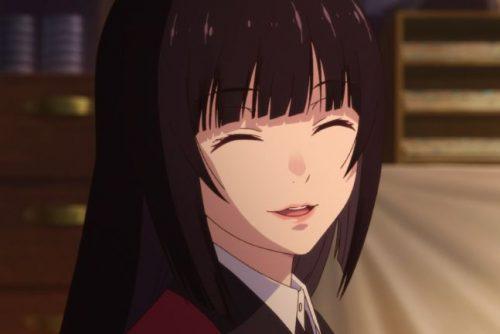 Kakegurui yumeko jabami closed eyes e1633983633487
