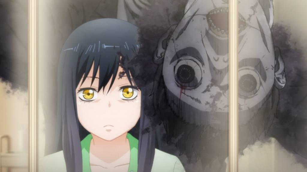 Mieruko Chan Anime Ghost Moments