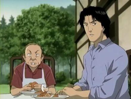 Monster anime kenzo table eating e1633984523727