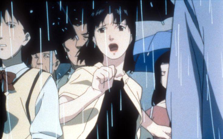 Perfect Blue mima raining anime