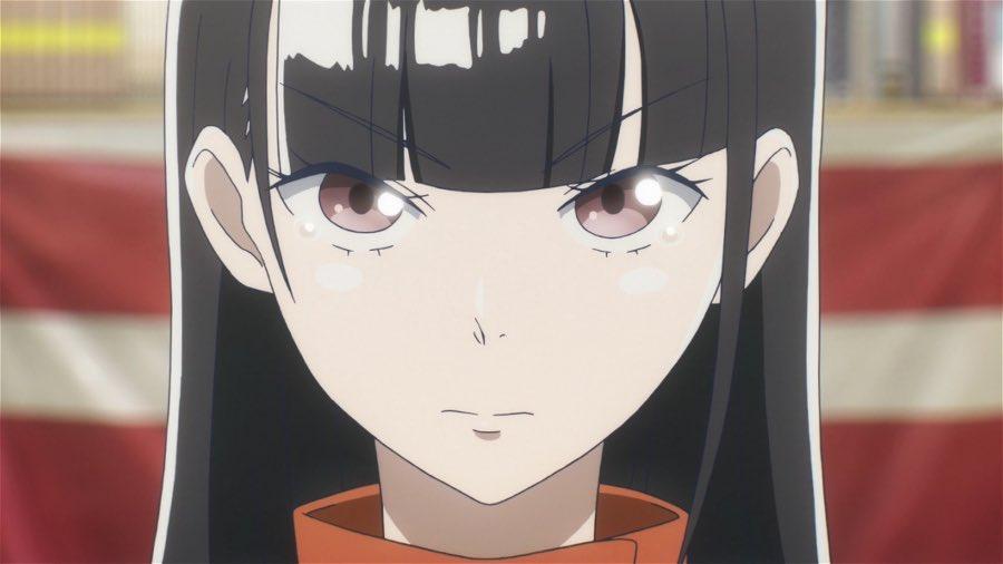 Shirase Kobuchizawa serious face