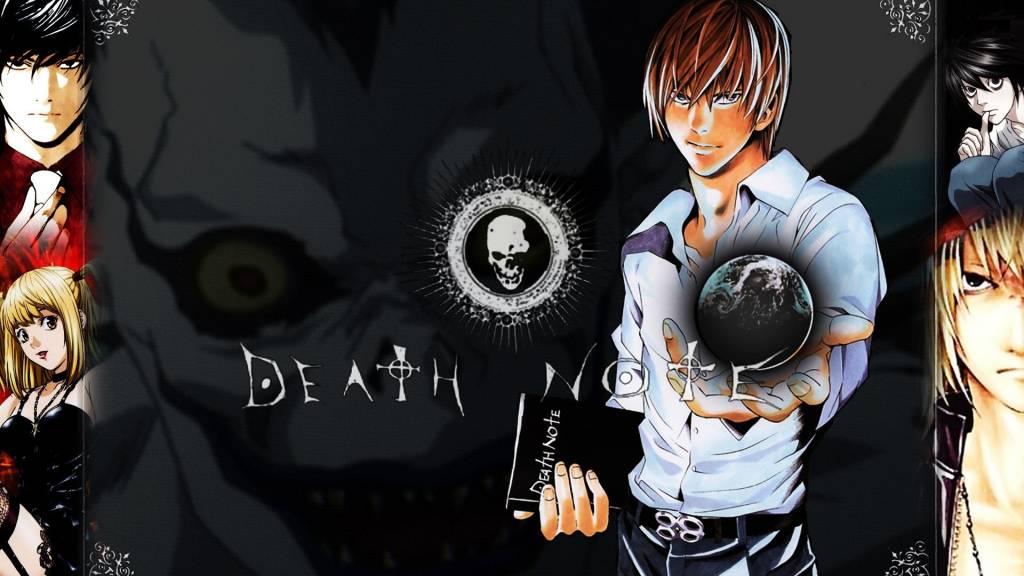 death note art wallpaper kira anime