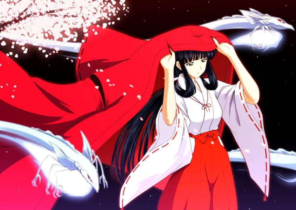 Kikyo Anime Inuyaha Wallpaper