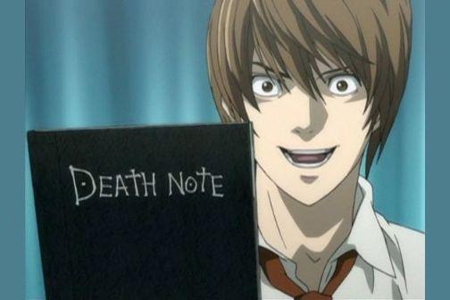 light yagami crazy death notebook