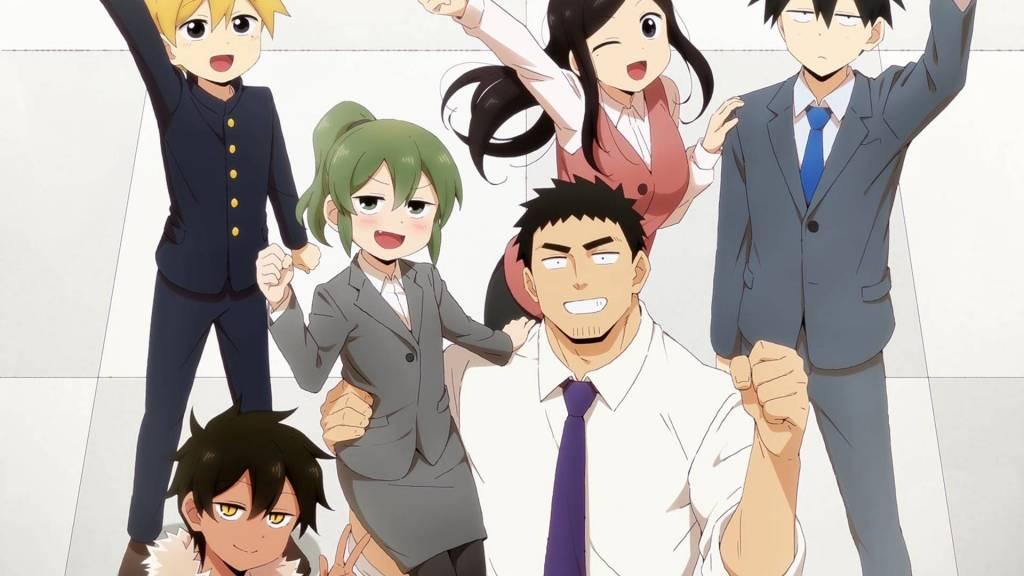my senpai is annoying anime art visuals